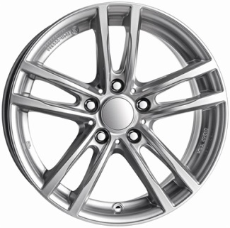 Alutec X10 Silver, 18x80 5x120 ET30