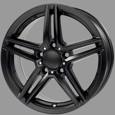 Alutec M10 Black, 16x70 ET38