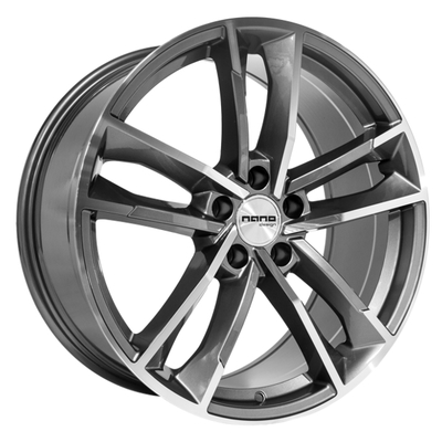 Nano BK5126 Grey Polished, 19x85 ET35