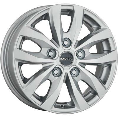 MAK Load 5 3 Silver, 16x65 ET60