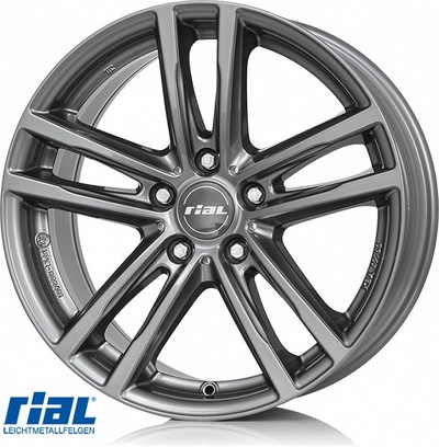 RIAL X10 GR 8,0X18, 5X120/30 (72,6) (GR) (BMW) ECE KG830 EH2+