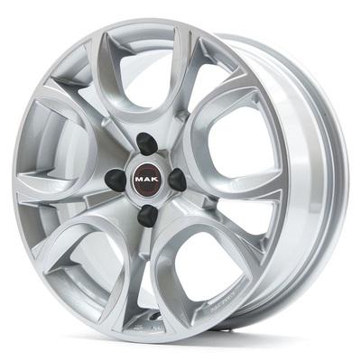 MAK Torino W Silver, 16x65 ET39