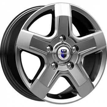 KIK Ellada Dark Platinum, 16x65 ET50