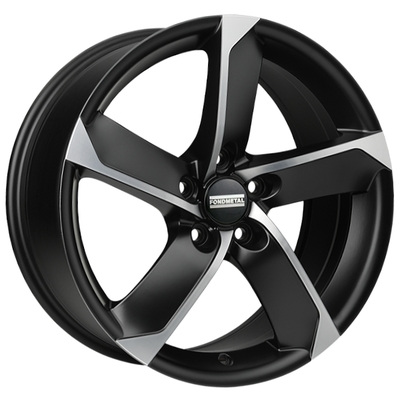 Fondmetal 7900 Black Pol, 16x65 ET42
