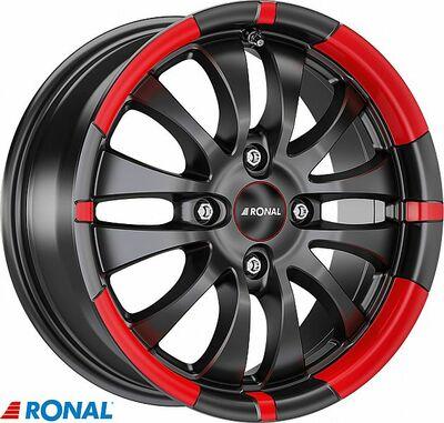 RONAL R59 MB/RED 7,5X17 5X112/48 (76,0) (PKR13) (BRR) (TÜV) KG800