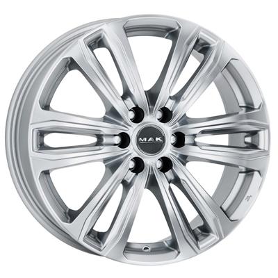 MAK Safari 6 Silver, 17x75 ET45
