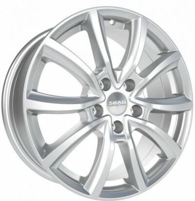 SKAD Ontario Hyper Silver, 17x70 ET48