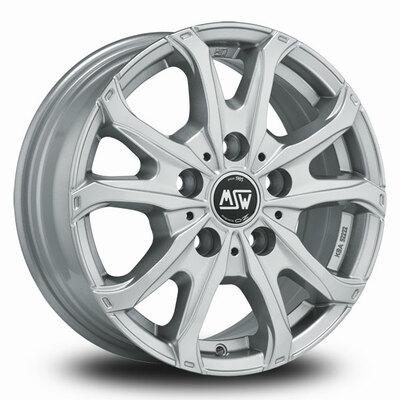 MSW 48 Van Silver, 16x65 5x160 ET60
