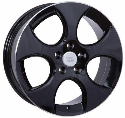 WSP Ciprus Black Polished, 18x75 ET51
