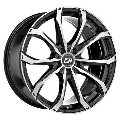 MSW 48 Black Full Pol, 18x80 ET45