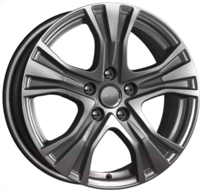 KIK KC673 Dark Platinum, 17x70 ET48