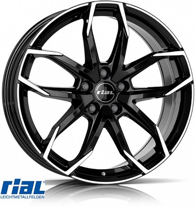 RIAL LUCCA BD 7,5X17, 5X108/52,5 (70,1) (Z) KG735