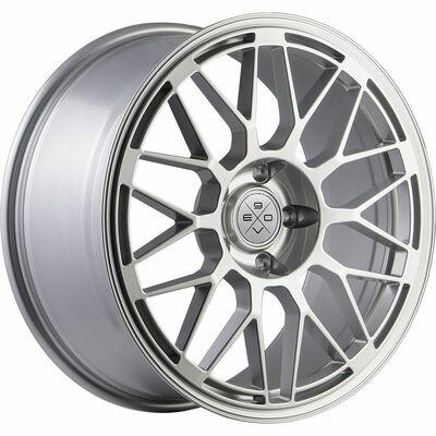 Fondmetal 9EVO Glossy Sil, 18x70 ET44