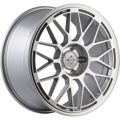 Fondmetal 9EVO Glossy Sil, 18x80 ET35