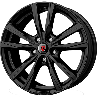 Reds K2 HD Matt Black, 16x65 ET38
