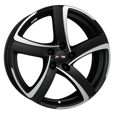 Disks Alutec Shark Black, 17x75 ET38