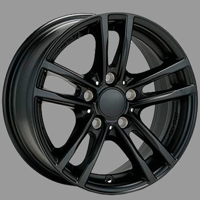 Alutec  X10 racing-black, 16x70 ET31